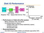 disk i o performance