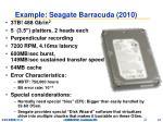 example seagate barracuda 2010