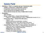 galois field