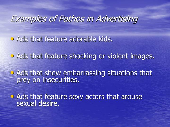 Examples of Pathos in Advertising
