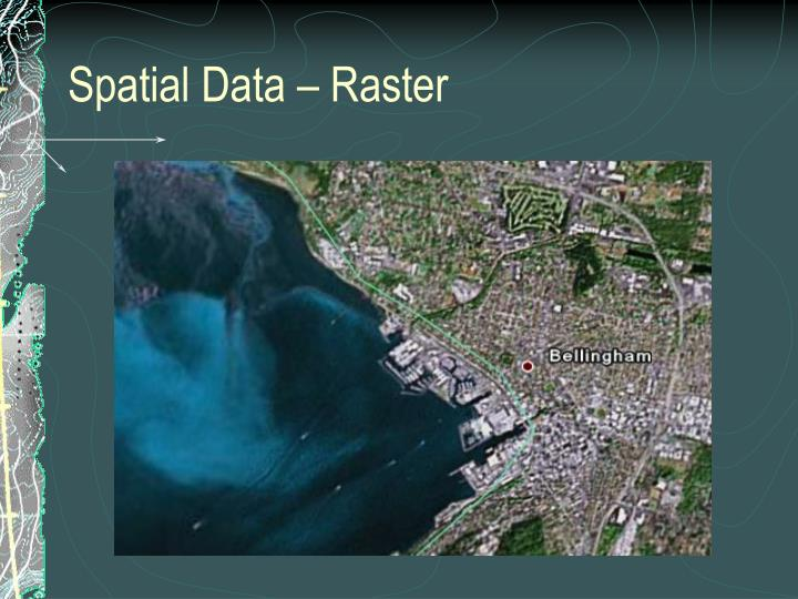 Spatial Data – Raster