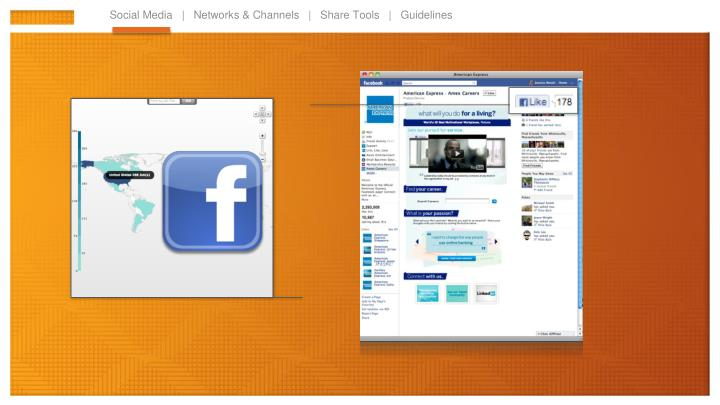 Social Media   |   Networks & Channels   |   Share Tools   |   Guidelines