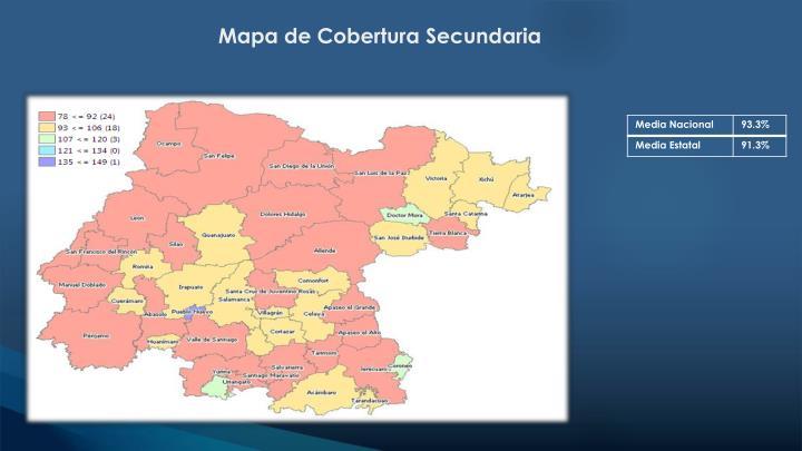 Mapa de Cobertura Secundaria