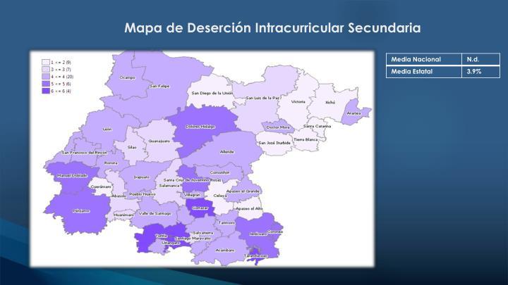 Mapa de Deserción