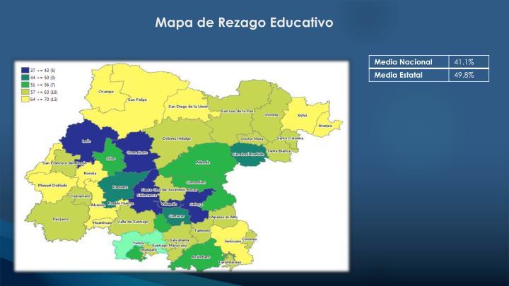 Mapa de Rezago Educativo