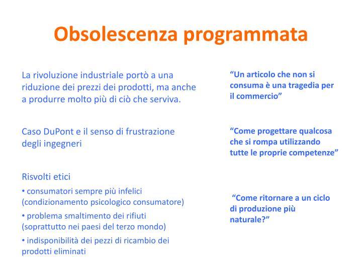 Obsolescenza programmata