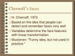 chernoff s faces