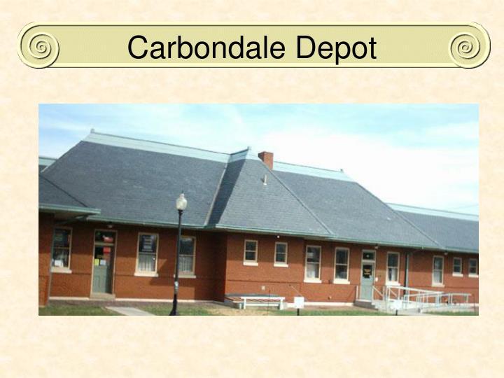 Carbondale Depot