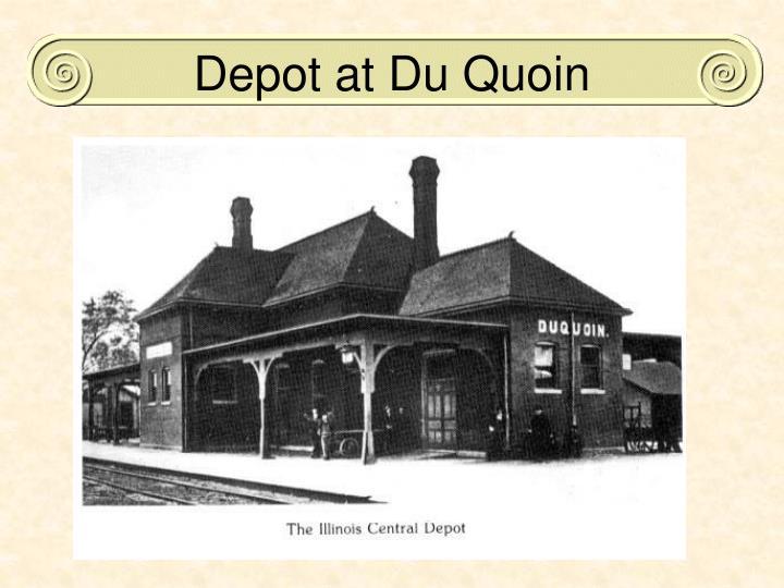 Depot at Du Quoin