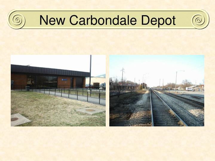 New Carbondale Depot