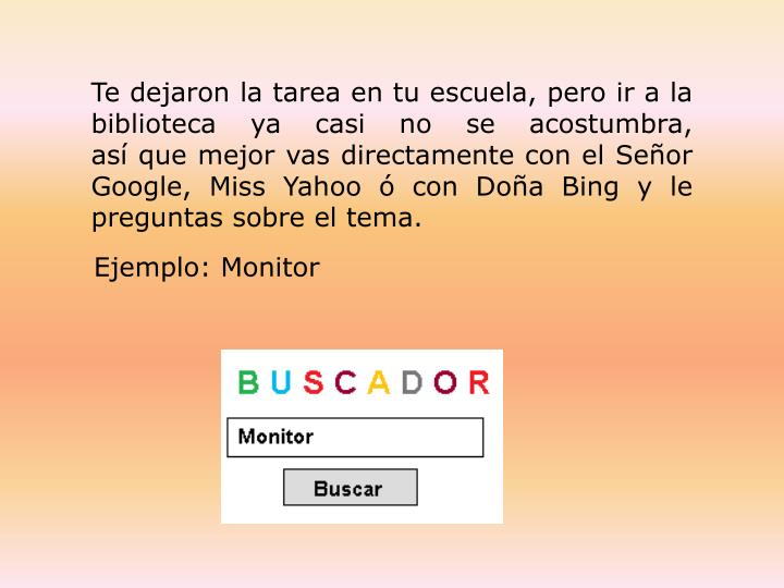 Ejemplo: Monitor