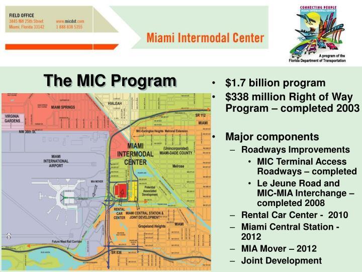 The MIC Program