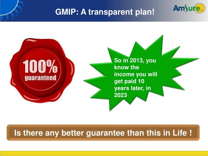 GMIP: A transparent