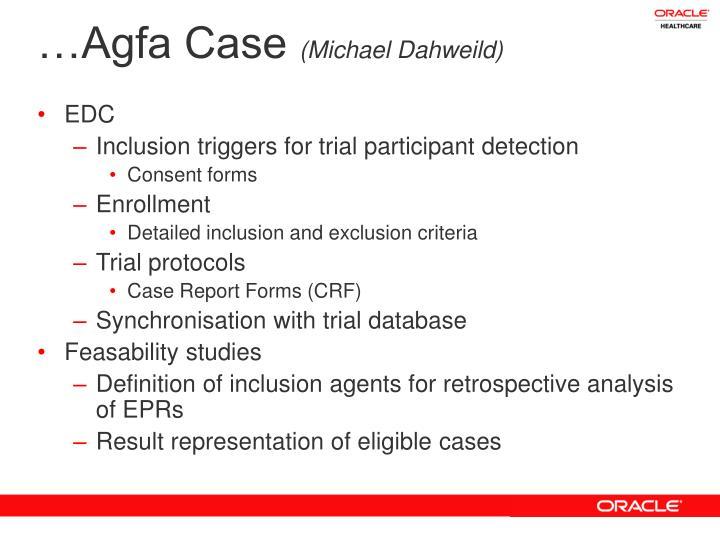 …Agfa Case