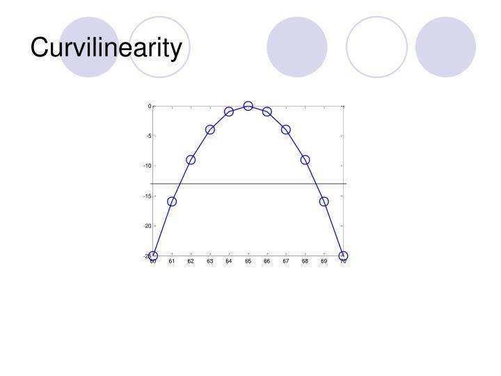 Curvilinearity