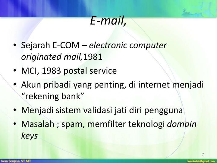 E-mail,