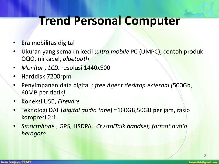 Trend Personal Computer