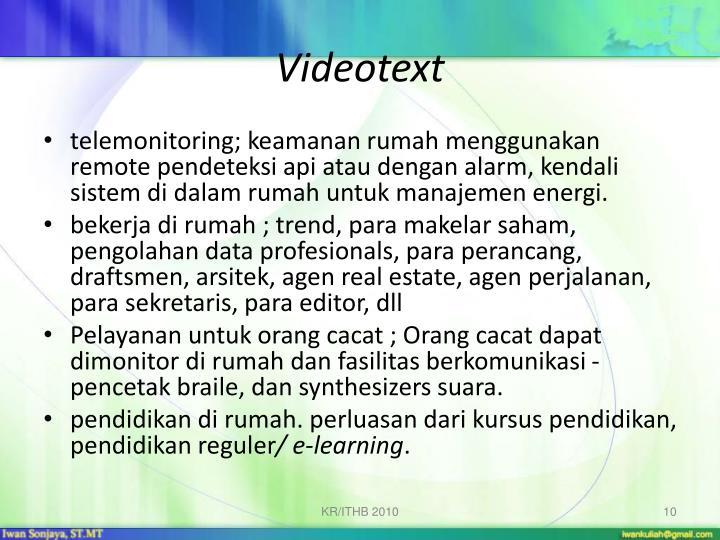 Videotext
