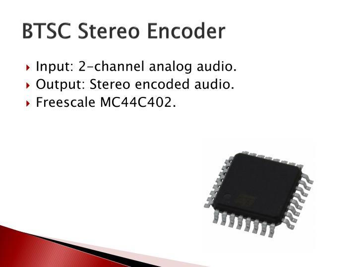 BTSC Stereo Encoder