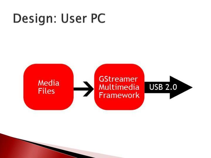 Design: User PC
