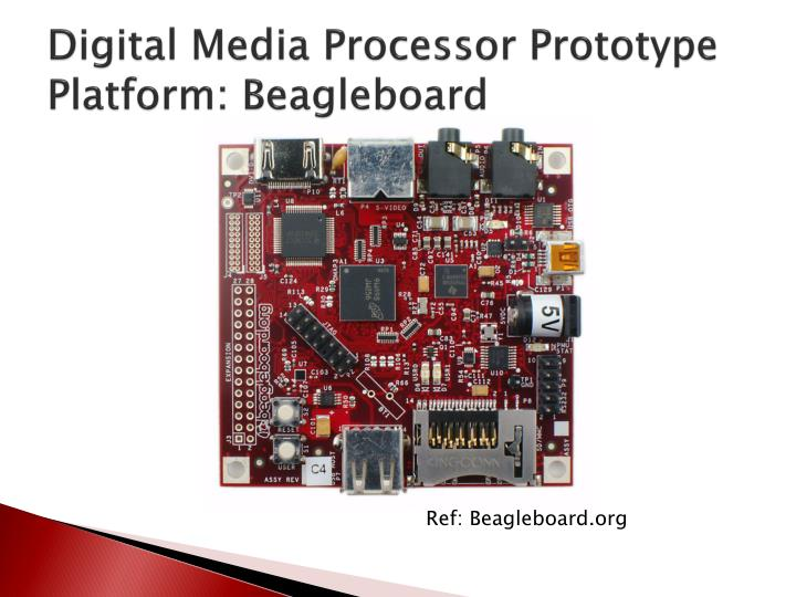 Digital Media Processor Prototype Platform: Beagleboard