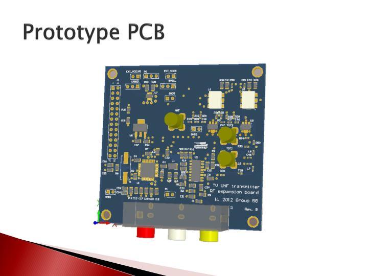 Prototype PCB