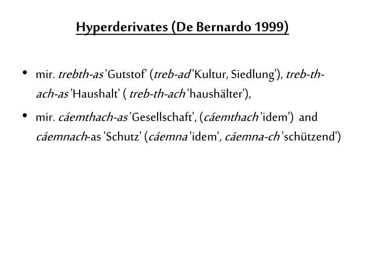 Hyperderivates