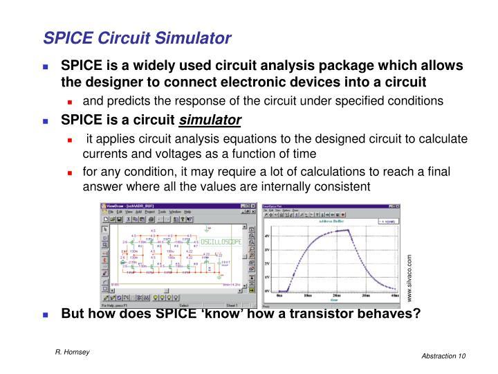 SPICE Circuit Simulator