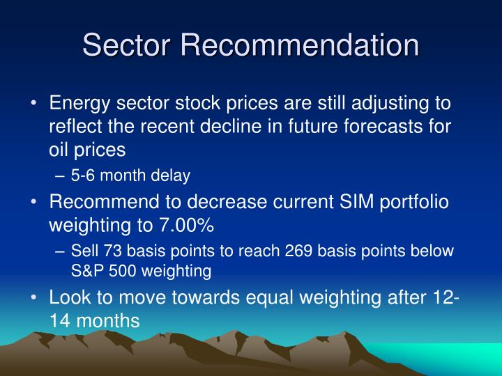 Sector Recommendation