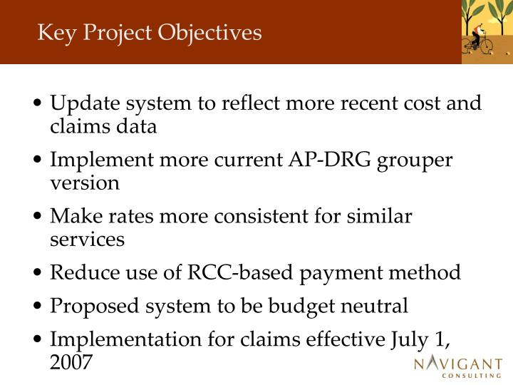 Key Project Objectives