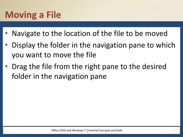 Moving a File