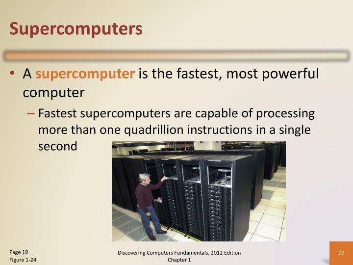 Supercomputers