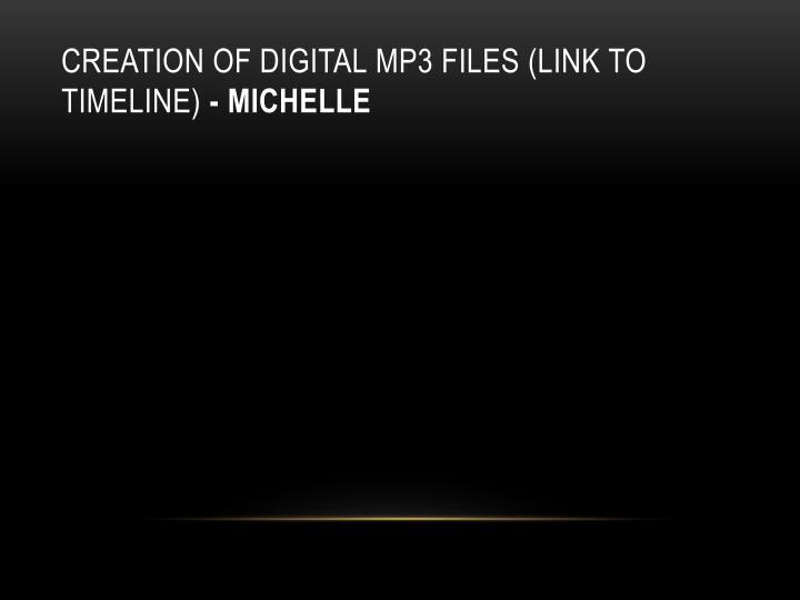 Creation of Digital