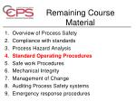 remaining course material1