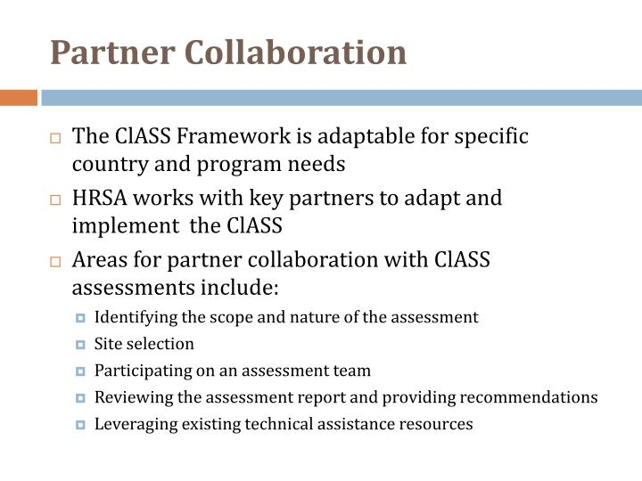 Partner Collaboration