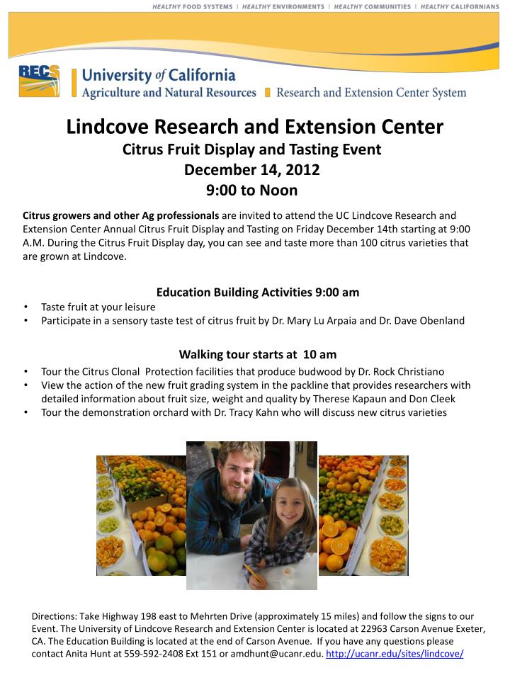 Lindcove Research and Extension Center