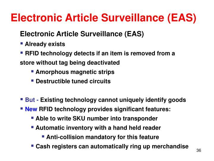 Electronic Article Surveillance (EAS)