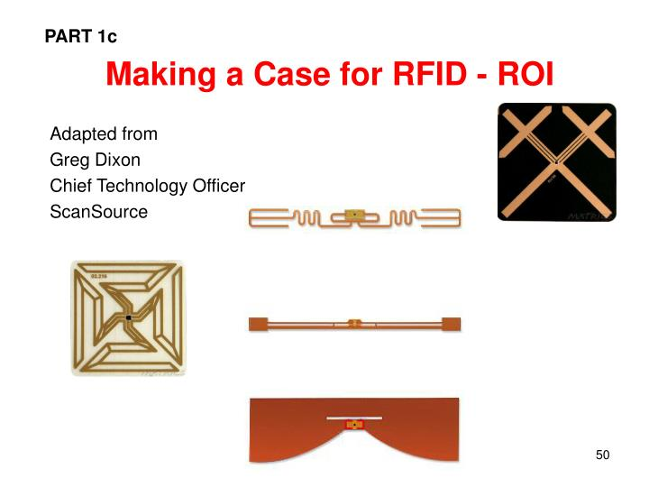 Making a Case for RFID - ROI