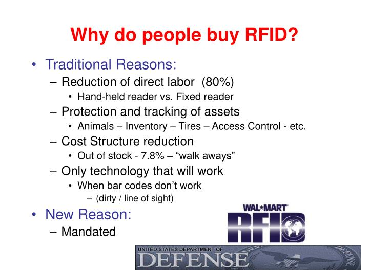 Why do people buy RFID?