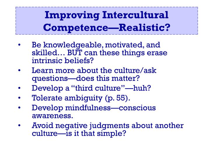 Be knowledgeable, motivated, and skilled… BUT can these things erase intrinsic beliefs?