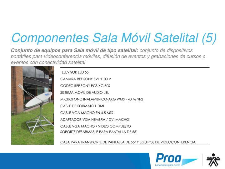 Componentes Sala Móvil Satelital (5)