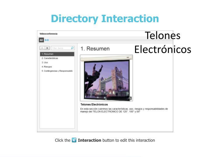 Telones Electrónicos