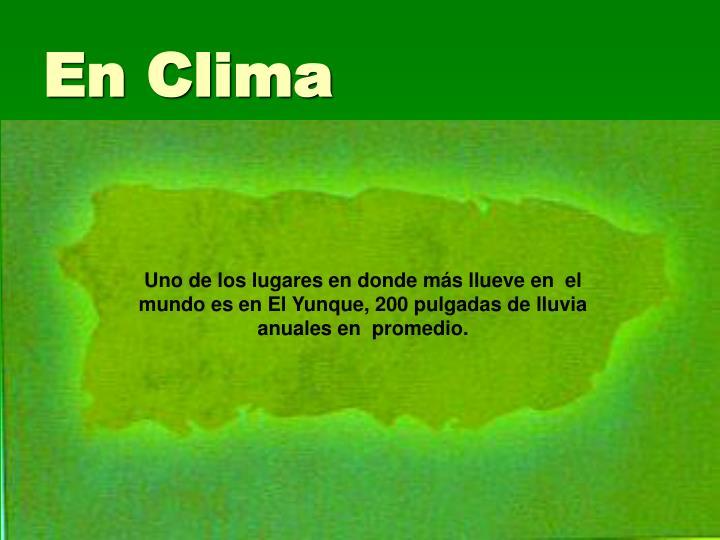En Clima