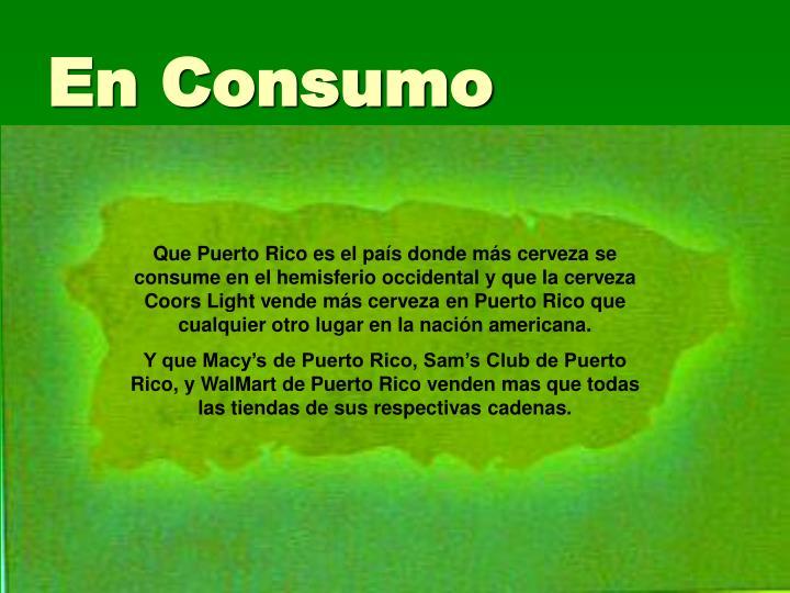 En Consumo
