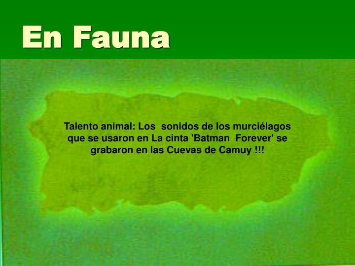 En Fauna