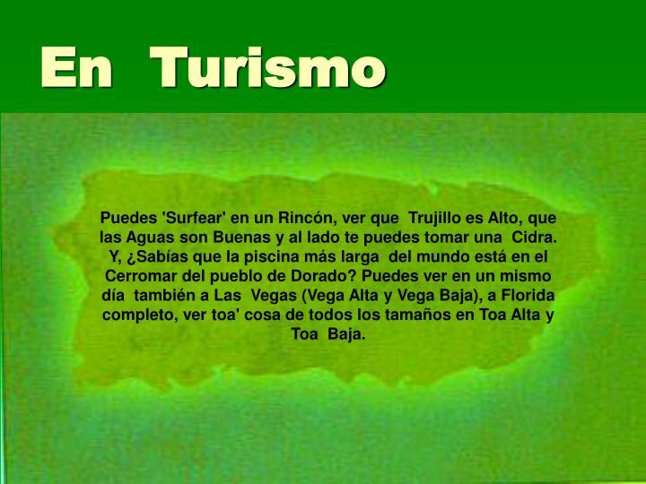 En  Turismo