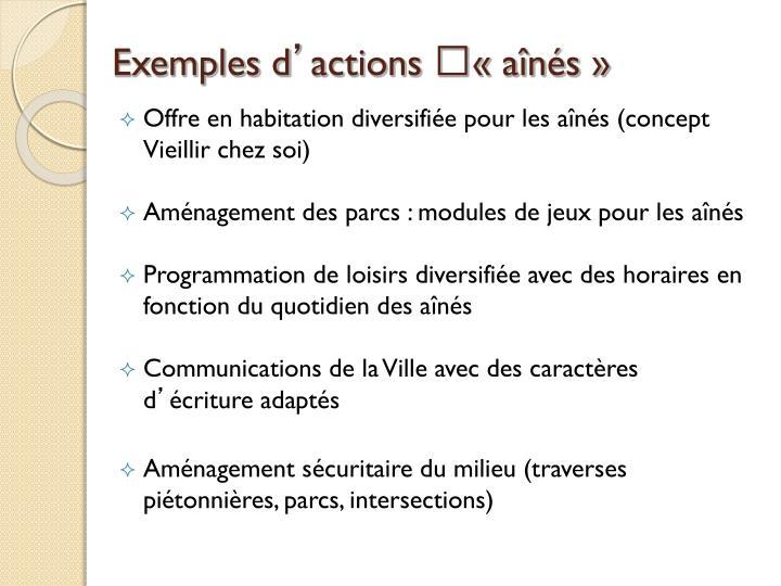 Exemples d