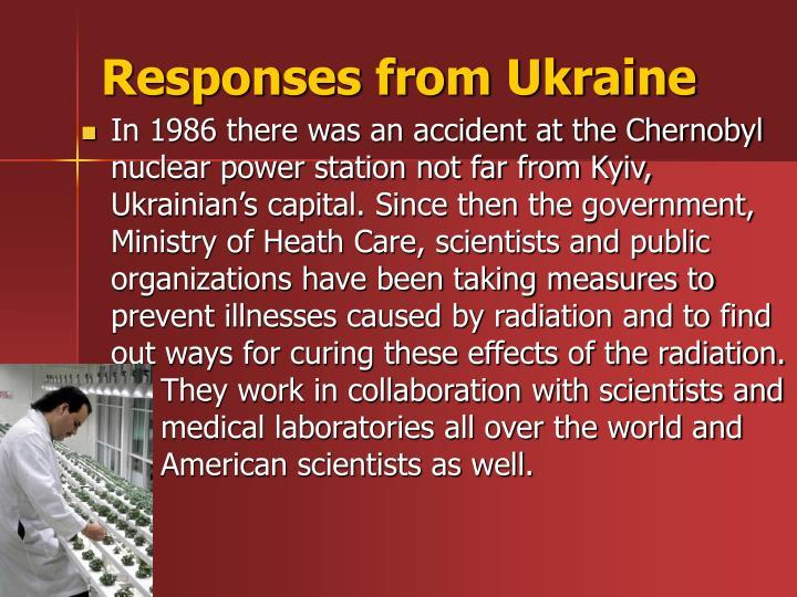 Responses from Ukraine