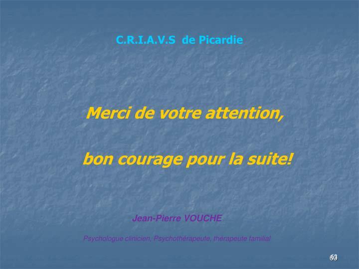 C.R.I.A.V.S  de Picardie