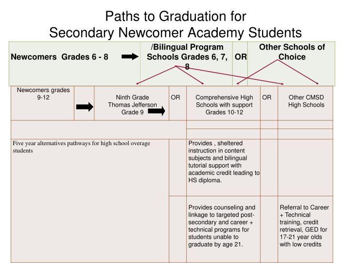 Paths to Graduation for